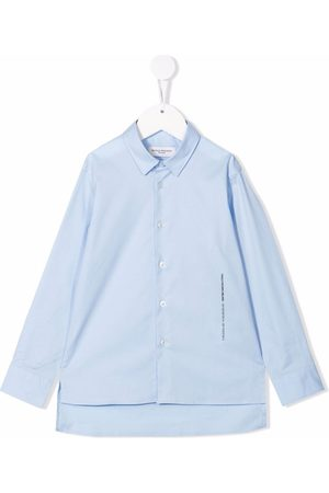 Paolo Pecora Kids Button-up cotton shirt