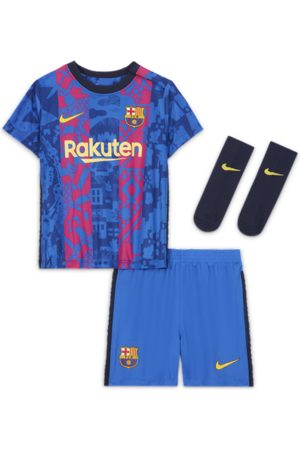 Nike FC Barcelona 2021/22 Third-sæt til babyer/småbørn