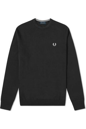 Fred Perry Mænd Strik - Crew Knit