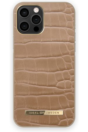 IDEAL OF SWEDEN Mobil Covers - Atelier Case iPhone 12 PRO MAX Camel Croco