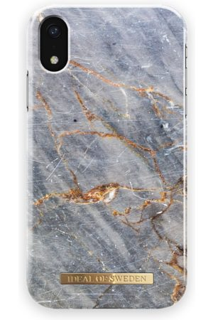 IDEAL OF SWEDEN Fashion Case iPhone XR Royal Grey Marble