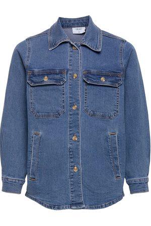 Grunt Else Autentic Blue Sjacket Skjorte