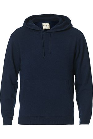 People´s Republic of Cashmere Cashmere Hoodie Navy