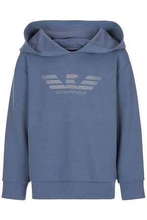 Emporio Armani Sweatshirts - Hættetrøje - Blue