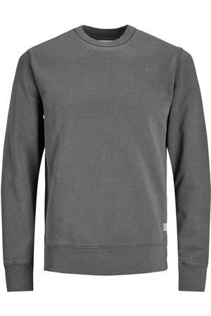 jack & jones Økologisk Bomuld Sweatshirt Mænd Brown; Grey
