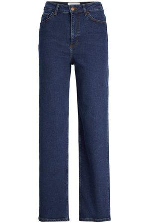 jack & jones Jxtokyo Hw Cc6001 Wide Fit Jeans Kvinder Blue; Brown