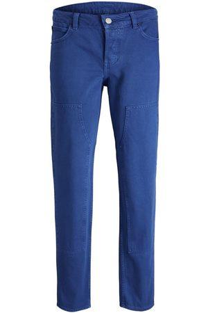jack & jones Jxspencer Loose Fit Jeans Kvinder Blue; Brown