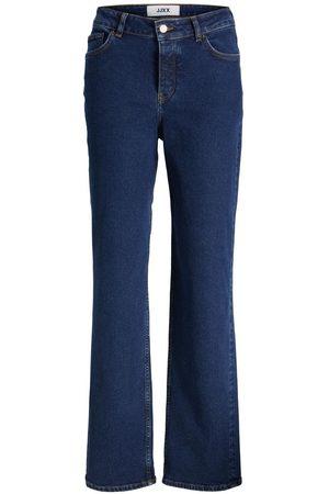 jack & jones Jxseville Mw Cc5001 Loose Fit Jeans Kvinder Blue; Brown