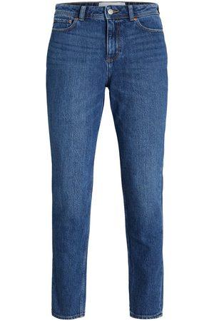jack & jones Jxberlin Hw Nc2005 Slim Fit Jeans Kvinder Blue; Brown