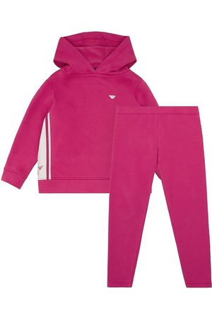 Emporio Armani Sweatshirts - Sæt - Hættetrøje/Bukser - Rosa Vivido