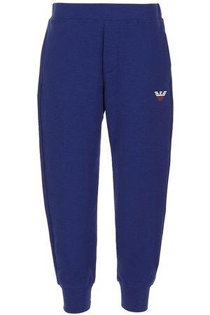 Emporio Armani Joggingbukser - Joggingbukser - Blue
