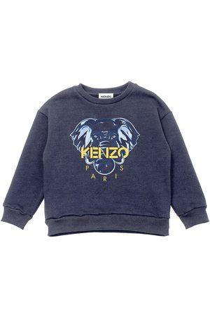 Kenzo Sweatshirts - Sweatshirt - Electric Blue m. Elefant