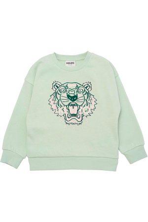 Kenzo Sweatshirts - Sweatshirt - Mintgrøn m. Tiger