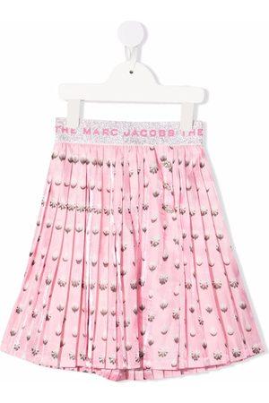 The Marc Jacobs Prikket nederdel med tryk