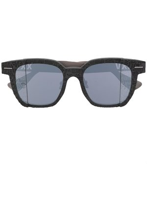 A Bathing Ape Solbriller - Logo-print square-frame sunglasses