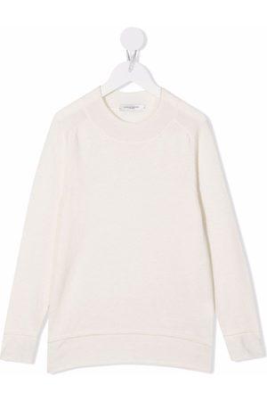 Paolo Pecora Kids Ribbed-trim long-sleeved sweatshirt