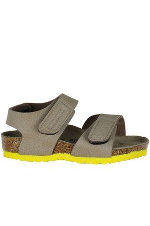 Birkenstock Sandaler - Sandaler - Palu Logo - Desert Soil Taupe/Yellow