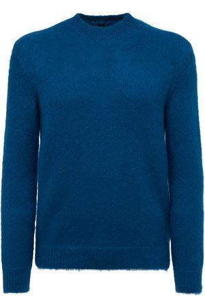 GIORGIO ARMANI Mohair Blend Knit Sweater