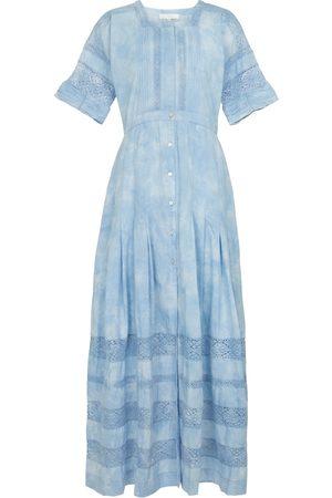LOVESHACKFANCY Edie cotton dress