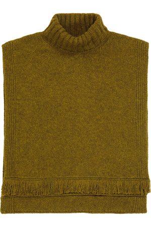 Bonpoint Talie sleeveless wool poncho