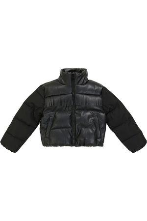STELLA McCARTNEY Kids Fringe-trimmed quilted puffer jacket