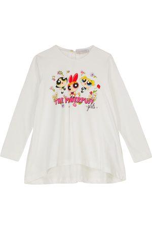 Monnalisa Powerpuff Girls cotton T-shirt