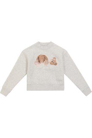 Palm Angels Kids Bear cotton sweatshirt