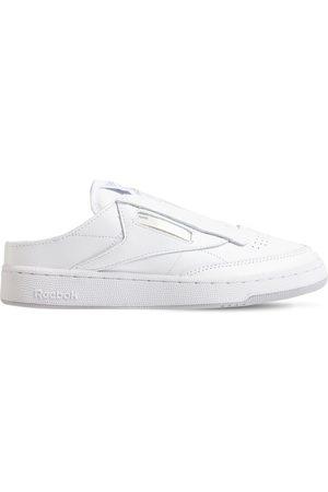 Reebok Beams Club C Laceless Mule Sneakers