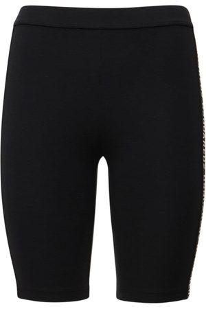Dsquared2 Intarsia Logo Jersey Biker Shorts