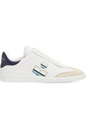 Isabel Marant 10mm Bryce Leather Sneakers
