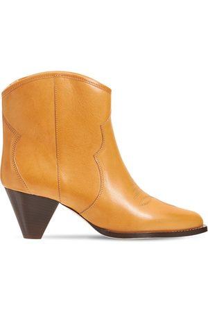 Isabel Marant 60mm Darizo Leather Ankle Boots