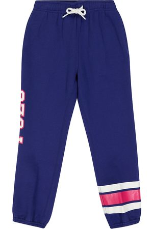 Polo Ralph Lauren Kids Piger Joggingbukser - Cotton-blend fleece sweatpants