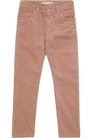 Bonpoint Piger Bukser - Cotton-blend corduroy pants