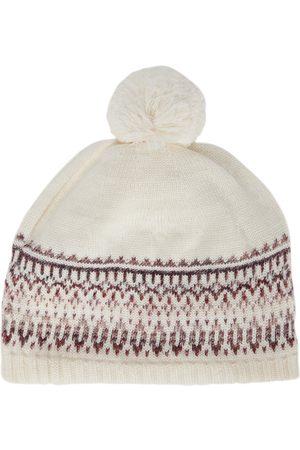 paade mode Intarsia wool-blend beanie