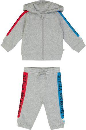 STELLA McCARTNEY Kids Baby printed cotton jersey tracksuit