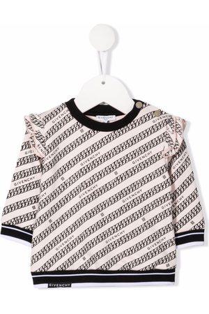Givenchy Baby Sweatshirts - Fleece-sweatshirt med kædetryk