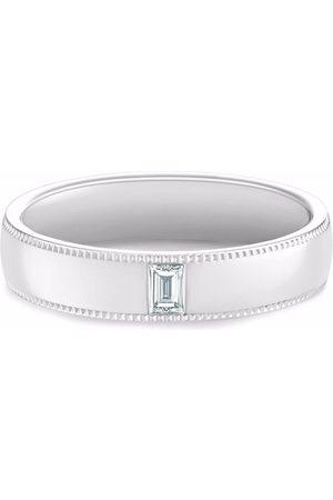 De Beers Jewellers Mænd Ringe - DB Classic Wide Court Poinçon diamantring