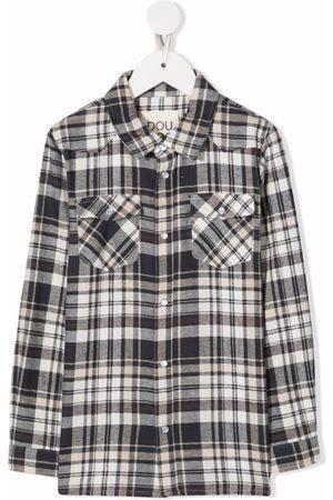 DOUUOD KIDS Skotskternet skjorte