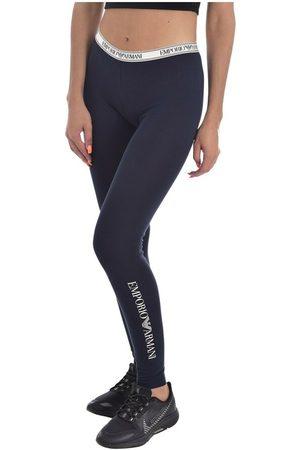 Emporio Armani Kvinder Leggings - Legging à logo bande