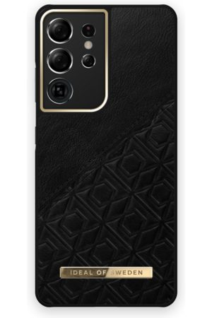 IDEAL OF SWEDEN Mobil Covers - Atelier Case Galaxy S21 Ultra Embossed Black