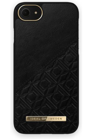 IDEAL OF SWEDEN Mobil Covers - Atelier Case iPhone 8 Embossed Black