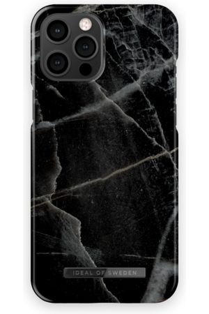 IDEAL OF SWEDEN Mobil Covers - Fashion Case iPhone 12 Pro Max Black Thunder Marble