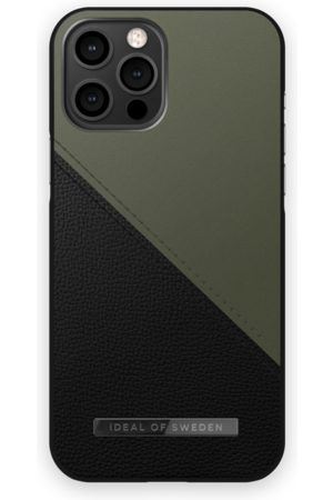 IDEAL OF SWEDEN Mobil Covers - Atelier Case iPhone 12 Pro Max Onyx Black Khaki
