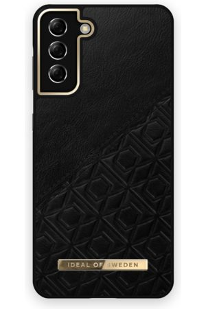 IDEAL OF SWEDEN Mobil Covers - Atelier Case Galaxy S21 Plus Embossed Black