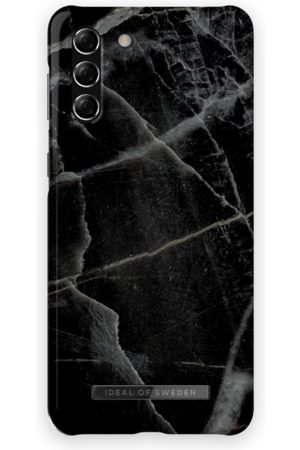 IDEAL OF SWEDEN Fashion Case Galaxy S21 Plus Black Thunder Marble