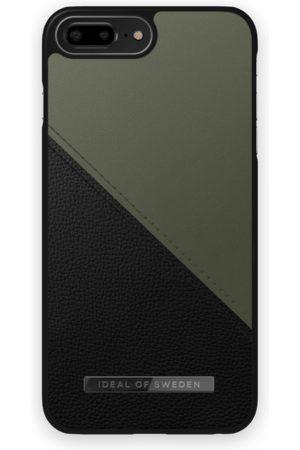 IDEAL OF SWEDEN Atelier Case iPhone 8 Plus Onyx Black Khaki