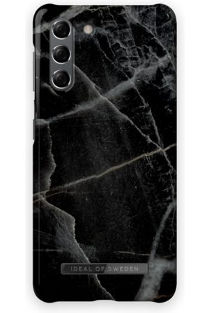 IDEAL OF SWEDEN Fashion Case Galaxy S21 Black Thunder Marble