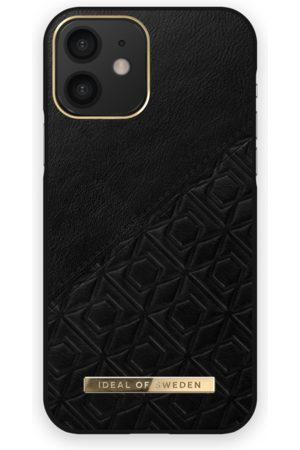 IDEAL OF SWEDEN Mobil Covers - Atelier Case iPhone 12 Embossed Black