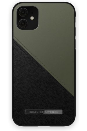 IDEAL OF SWEDEN Mobil Covers - Atelier Case iPhone 11 Onyx Black Khaki