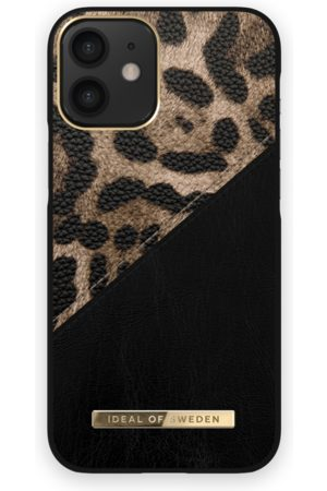 IDEAL OF SWEDEN Atelier Case iPhone 12 Mini Midnight Leopard